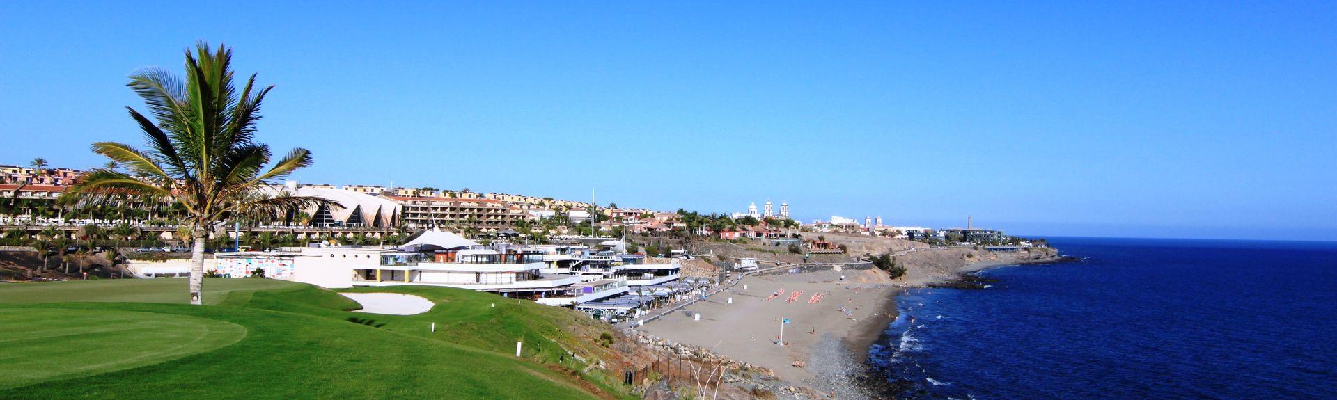 Salobre Golf Resort, Maspalomas, Kanarieöarna, Spanien