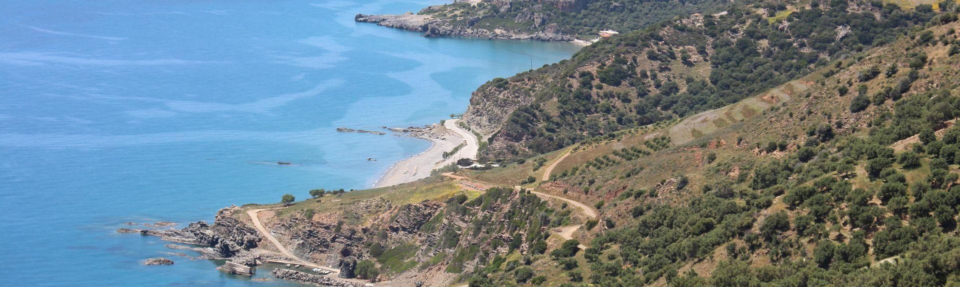 Frangokástellon, Sfakia, Kreta, Griekenland