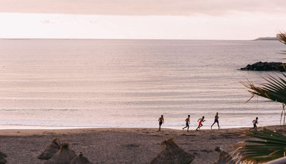 Los Cristianosin ranta, Los Cristianos, Kanariansaaret, Espanjassa