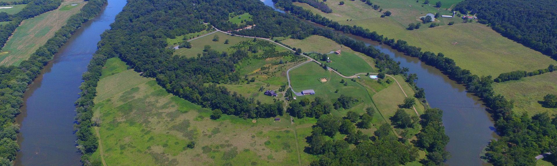 Champ de bataille de Kernstown, Winchester, Virginie, États-Unis d'Amérique