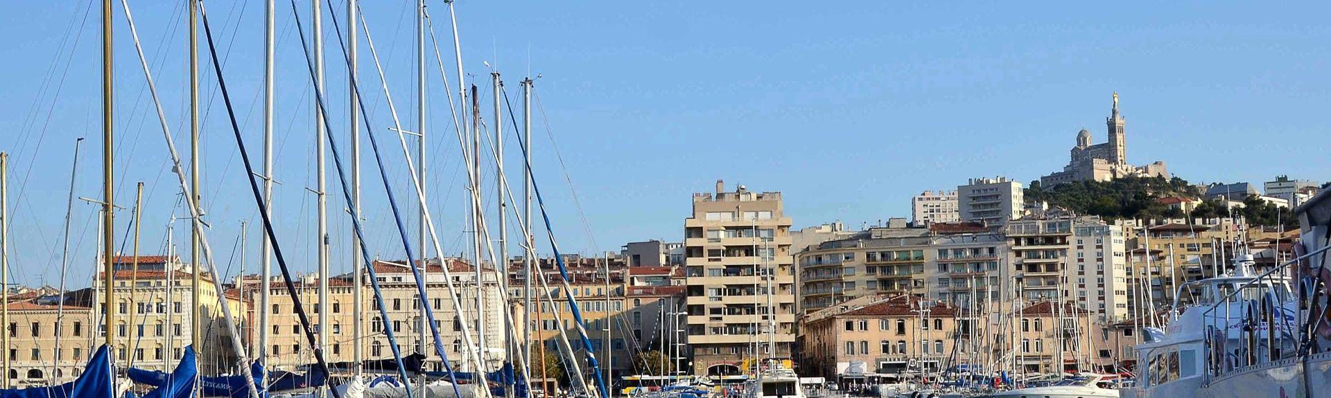 La Castellane, Marseille, Provence-Alpes-Côte d'Azur, Frankreich