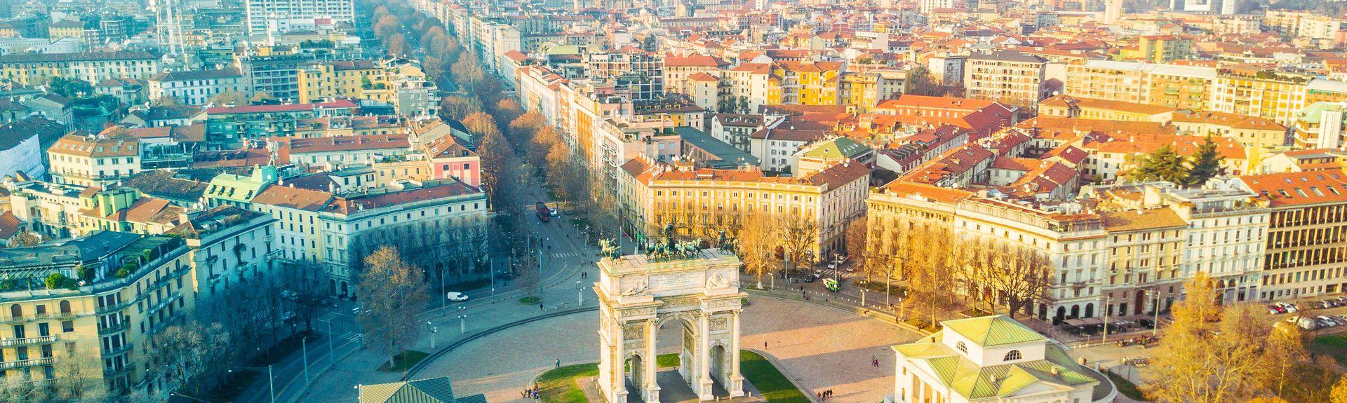 Milan, MI, Lombardie, Italie