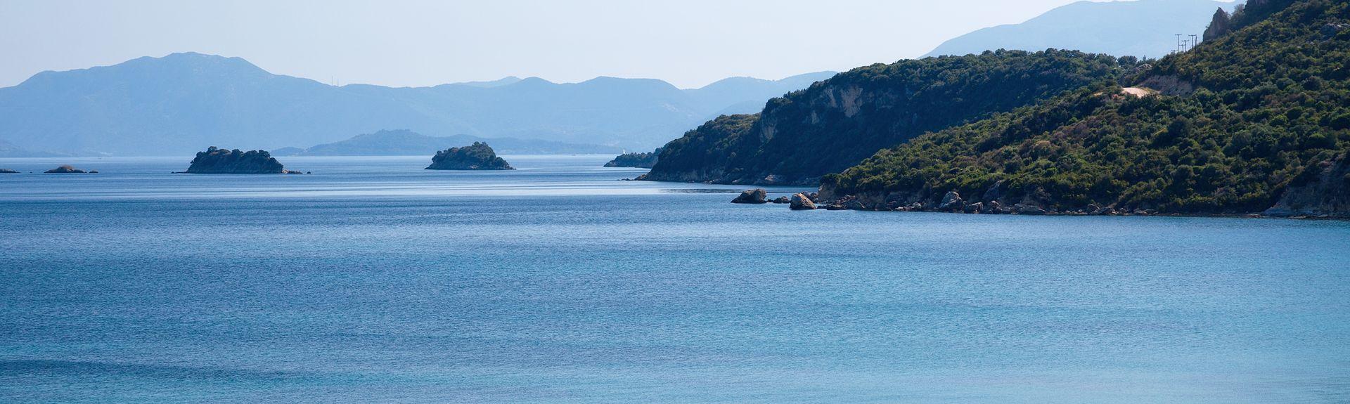 Lefkada-Stadt, Lefkada, Region der Ionischen Inseln, Griechenland