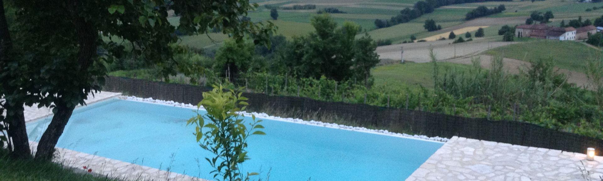 Cocconato, Piémont, Italie