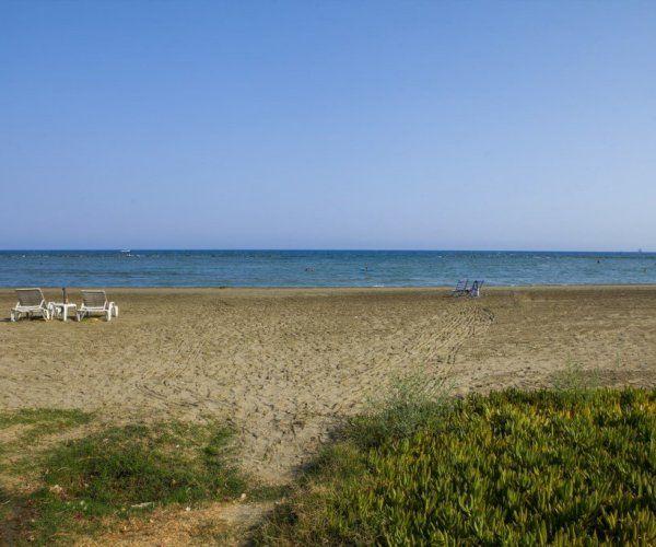 Spiaggia Finikounda, Larnaca, Distretto di Larnaca, Cipro