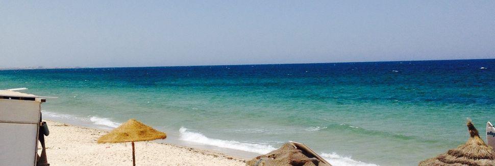 Sousse Strand, Sousse, Tunesien