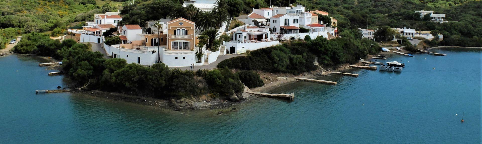 Es Canutells, Mahon, Balearen, Spanje