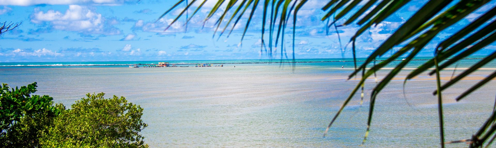 Ponta Verde-stranden, Maceio, Alagoas, Brasilien
