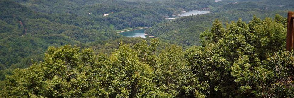 Great Smoky Mountains Railroad (ferrocarril turístico), Bryson City, Carolina del Norte, Estados Unidos