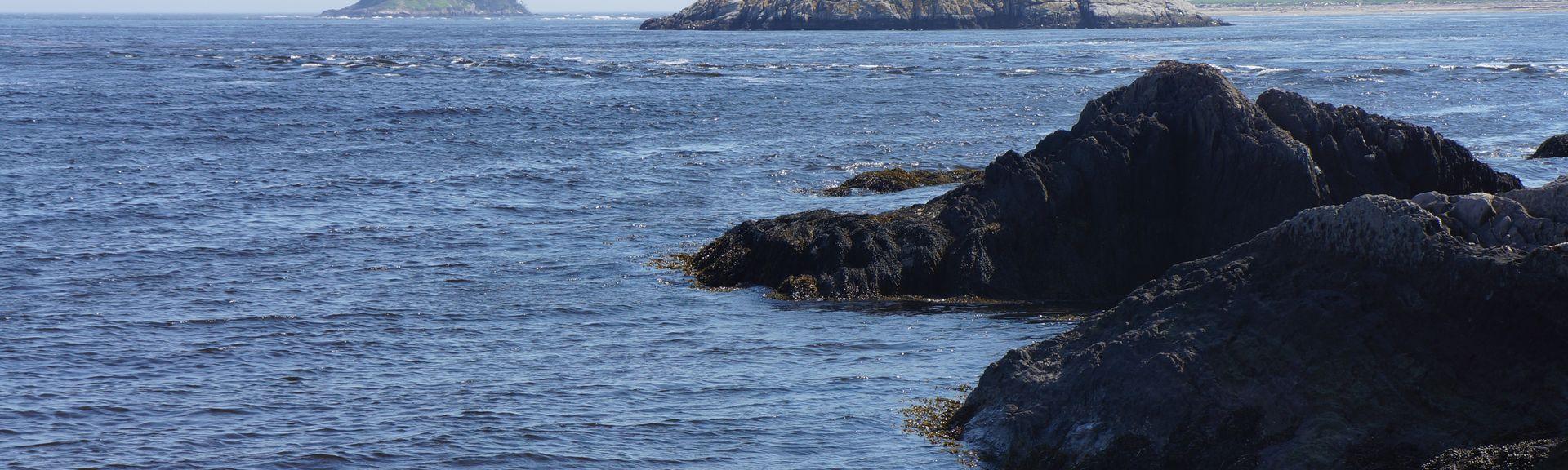 Linekin Bay, Boothbay, Maine, Verenigde Staten