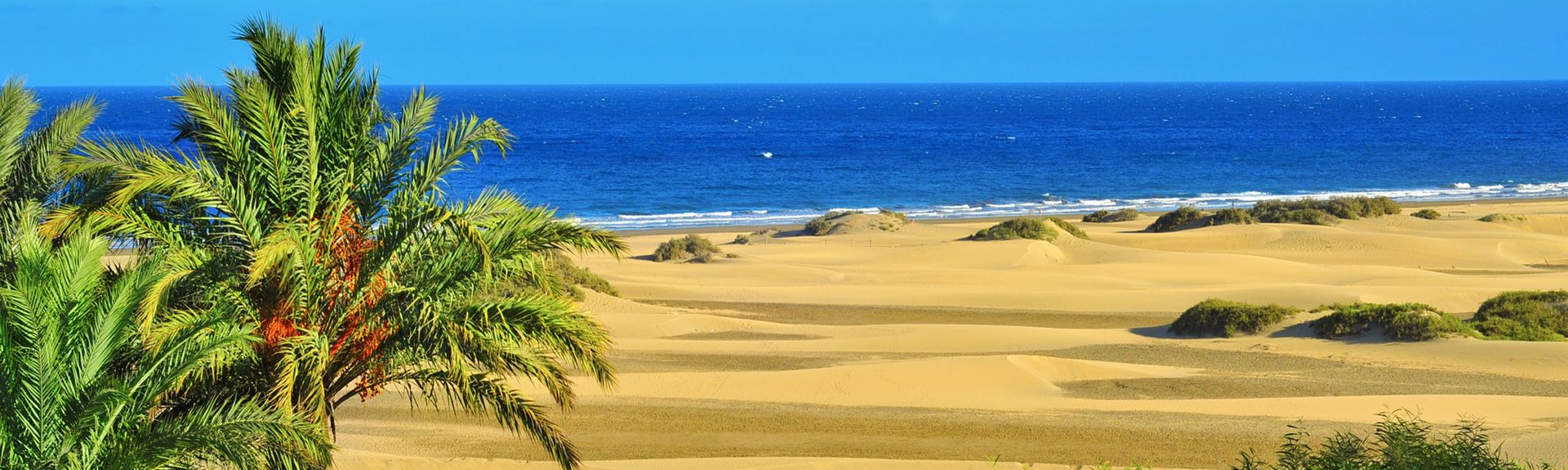 Playa de Puerto Rico, Mogan, Kanarieöarna, Spanien