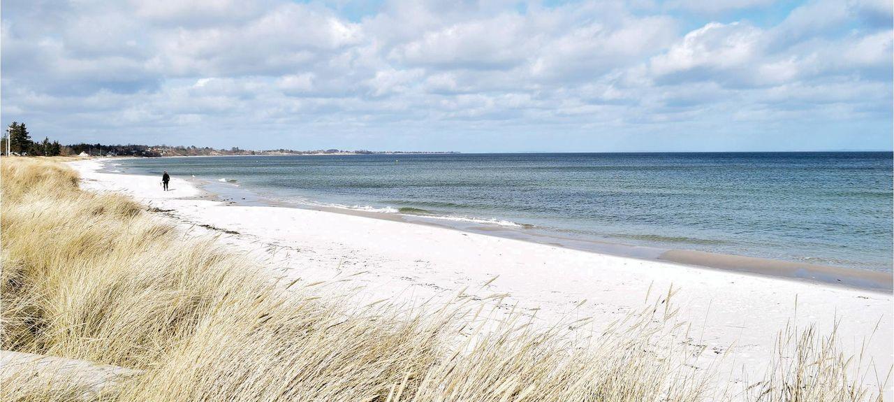 Saksild Strand, Odder, Jutland-Central, Danemark