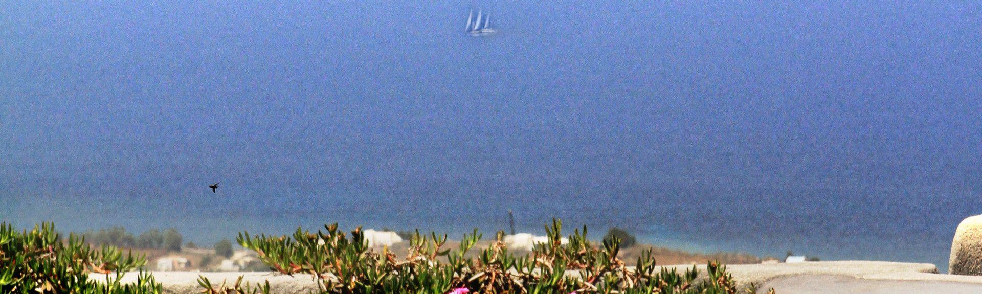 Akrotiri Fyrtårn, Akrotiri, De Ægæiske Øer, Grækenland