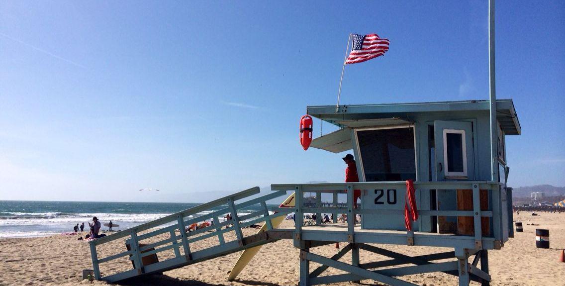 Ocean Park, Santa Monica, Kalifornien, USA
