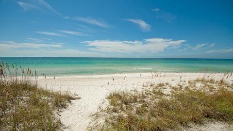 Coquina Beach, Bradenton Beach, FL, USA
