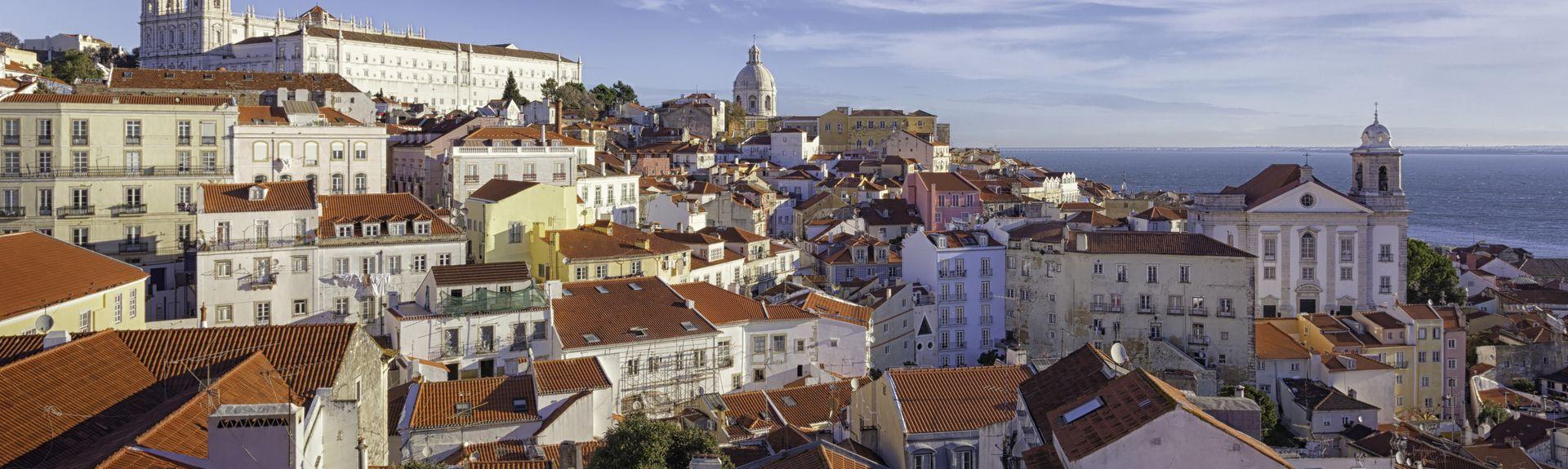 Alfama, District de Lisbonne, Portugal