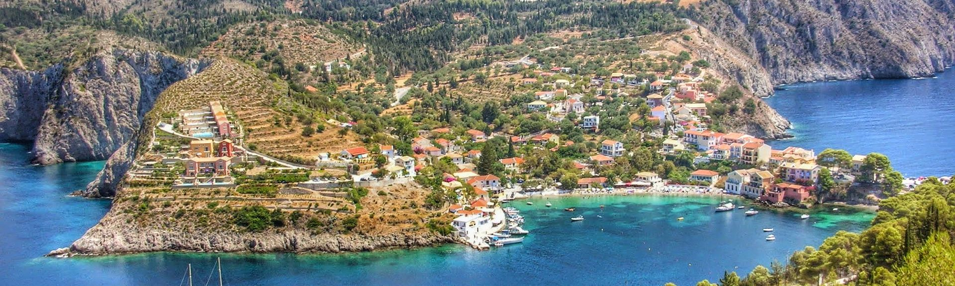Assos, Kefalonia, Ionian Islands Region, Greece