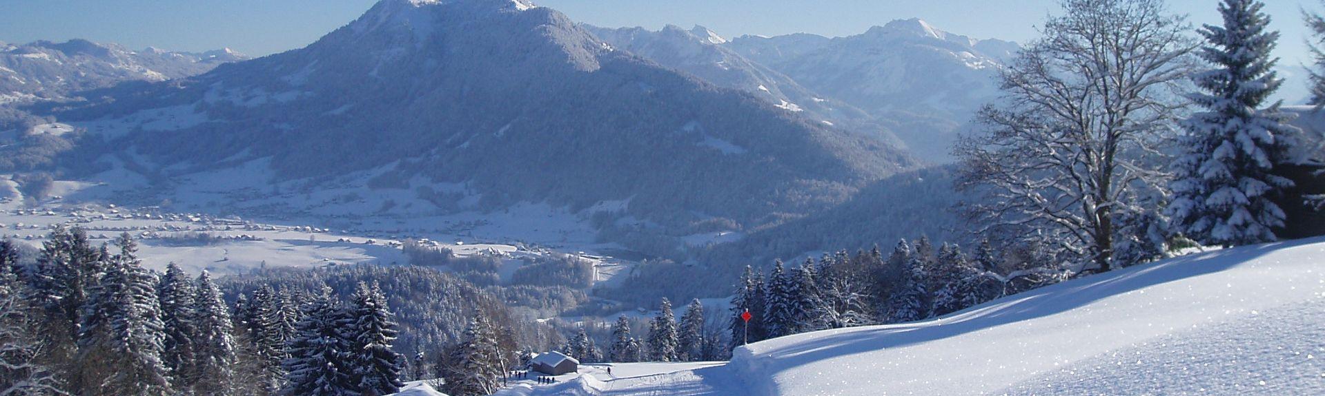 Oberdamuels Ski Lift, Damüls, Vorarlberg, Austria