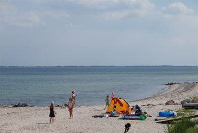Strand von Fyns Hoved, Martofte, Syddanmark, Dänemark