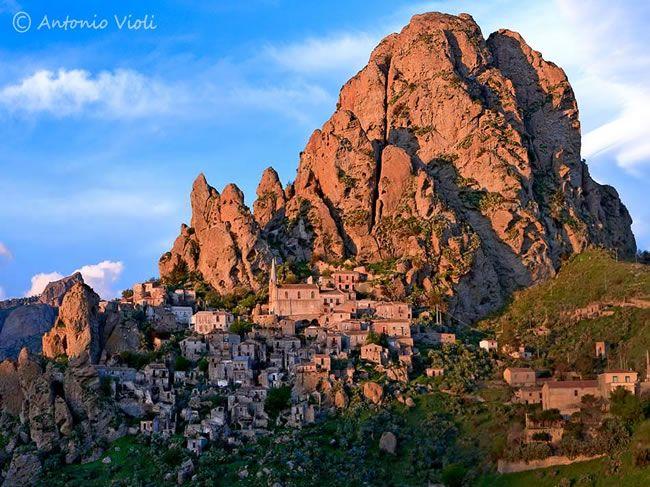 Saline Joniche, Calabre, Italie