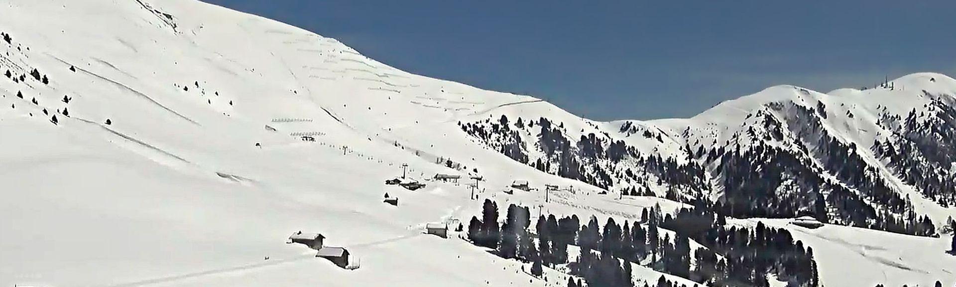 Piza Pranseies Ski Lift, Selva di Val Gardena, Trentino-Alto Adige, Italy