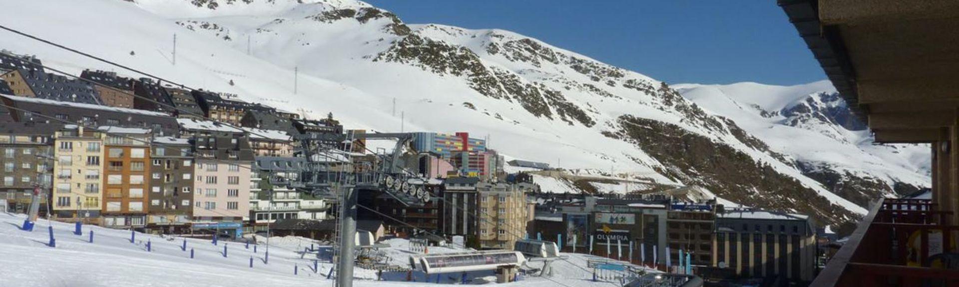 Arcalis Ski Resort, Arcalís, Ordino, Andorra