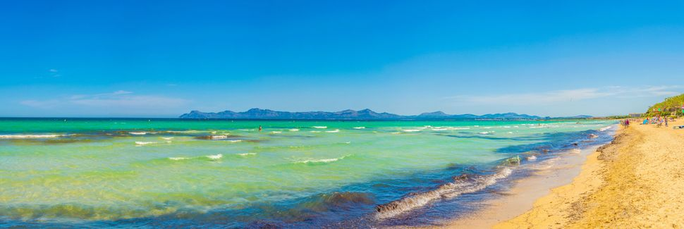 Port d'Alcudia, Alcudia, Ilhas Baleares, Espanha