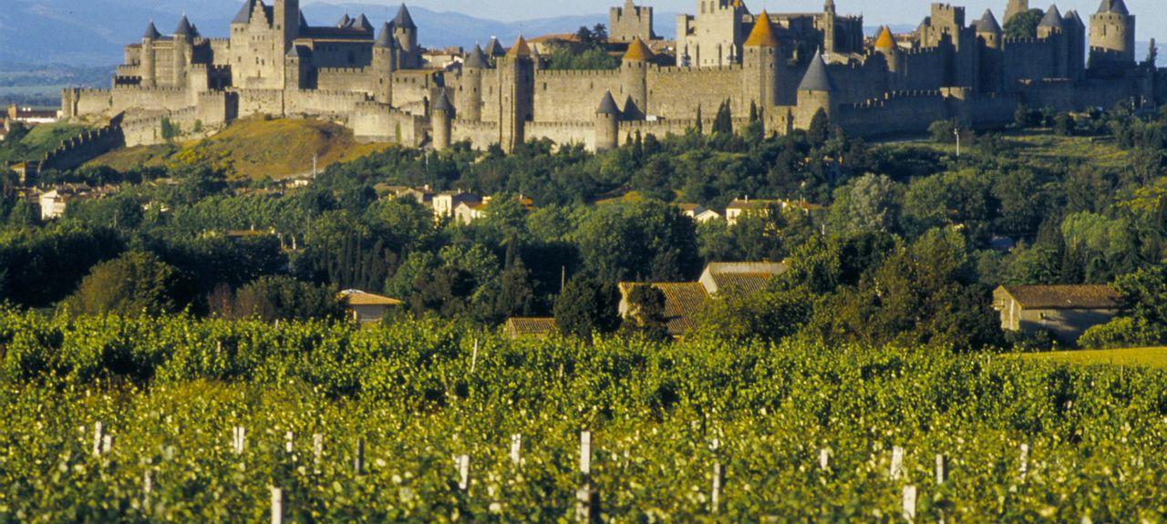 Carcassonne, Occitanie, Frankreich
