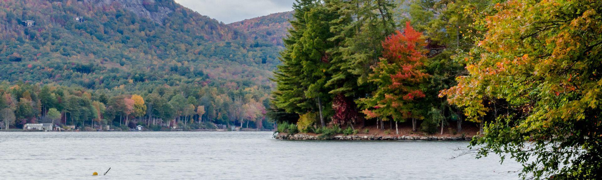 Lake Toxaway, North Carolina, USA