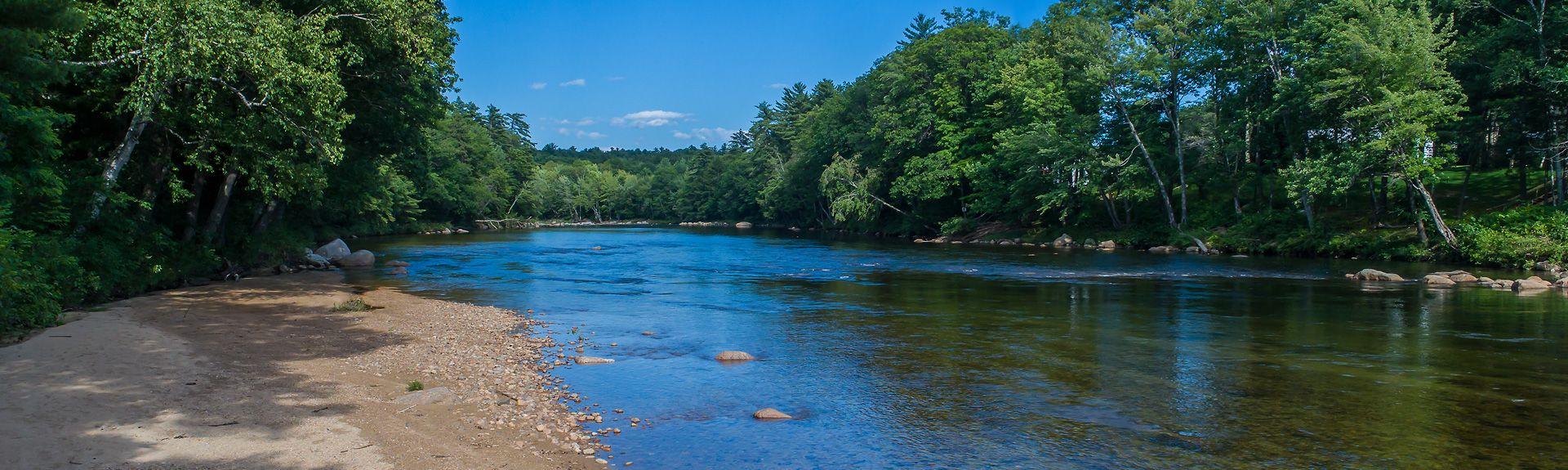 Kezar Lake, Center Lovell, Maine, United States of America