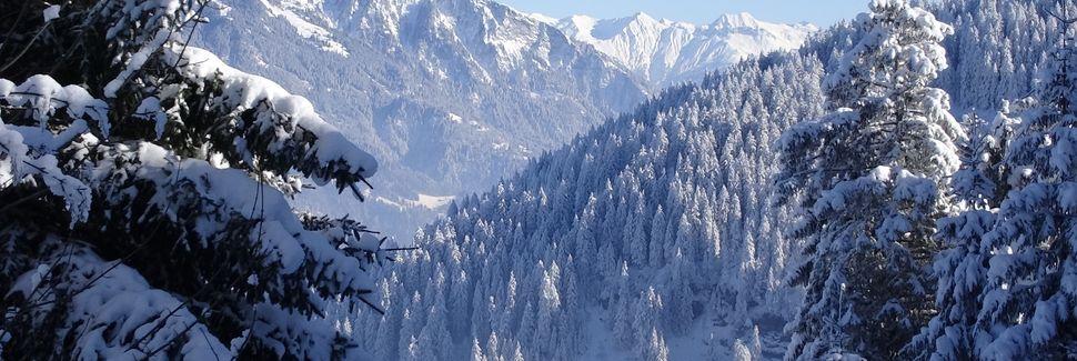 Maienfeld, Graubünden, Schweiz