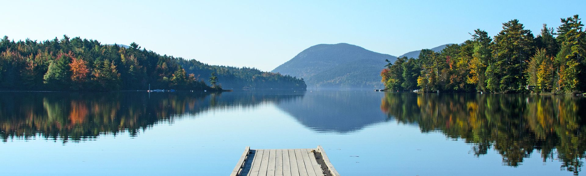 Long Pond, Mount Desert, Maine, États-Unis d'Amérique