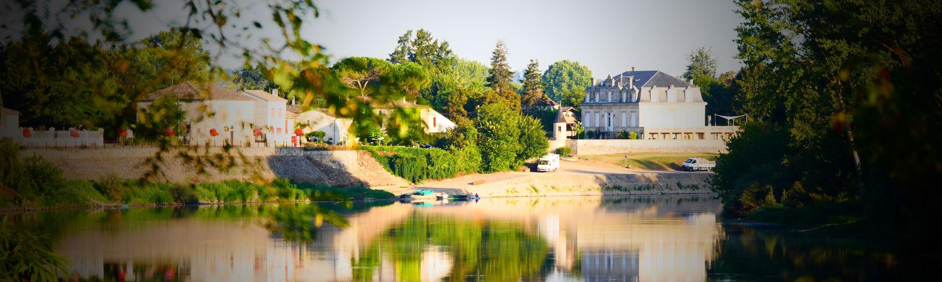 Station Caudrot, Caudrot, Aquitaine-Limousin-Poitou-Charentes, Frankrijk
