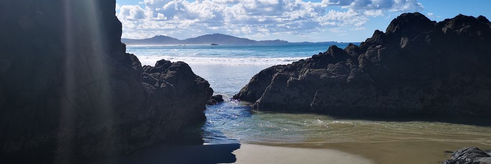 Mangawhai Heads Beach, Mangawhai Heads, North Island, New Zealand