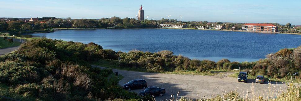 Knokke-Heist strand, Knokke-Heist, Den flamske regionen, Belgia