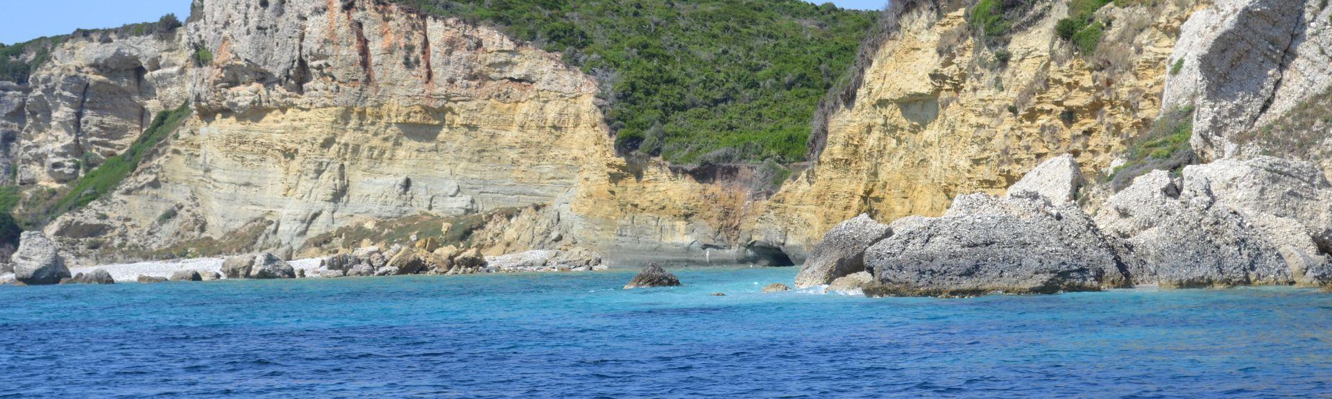 Karousades, Administração Descentralizada do Peloponeso, Grécia Ocidental e Ilhas Jónicas, Grécia