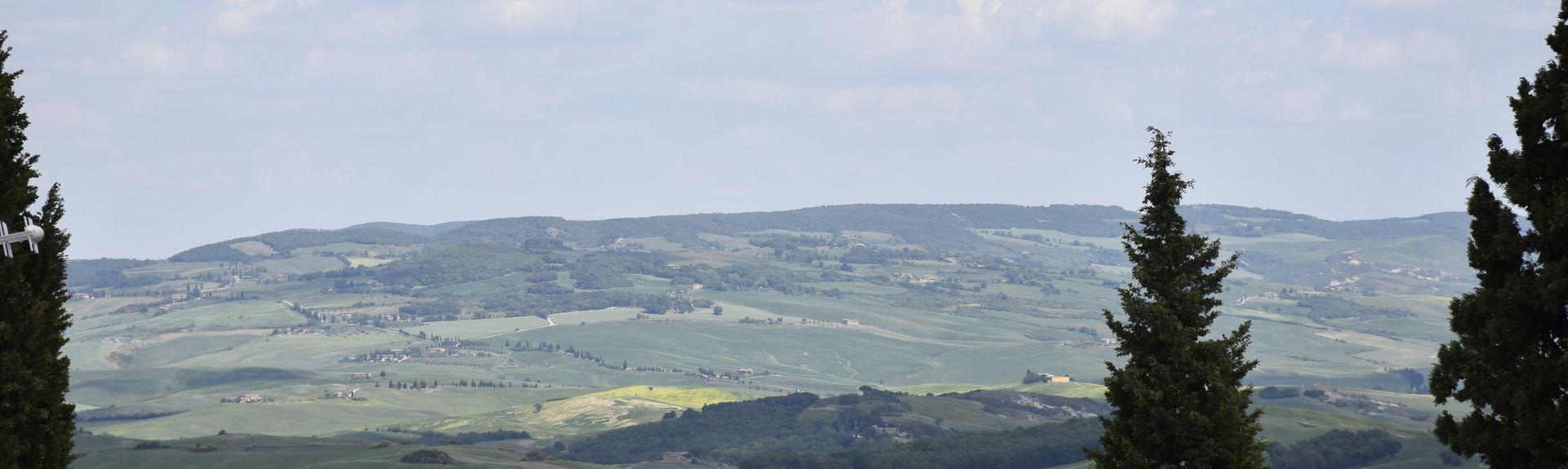 Monticchiello, Siena, Tuscany, Italy
