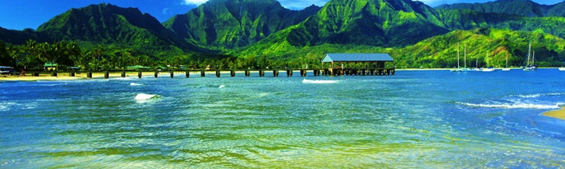 Hanalei Palms, Hanalei, Havaí, Estados Unidos