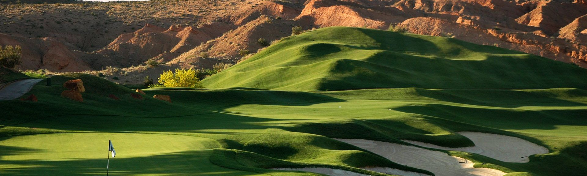 Coyote Willows Golf Course, Mesquite, Nevada, Verenigde Staten