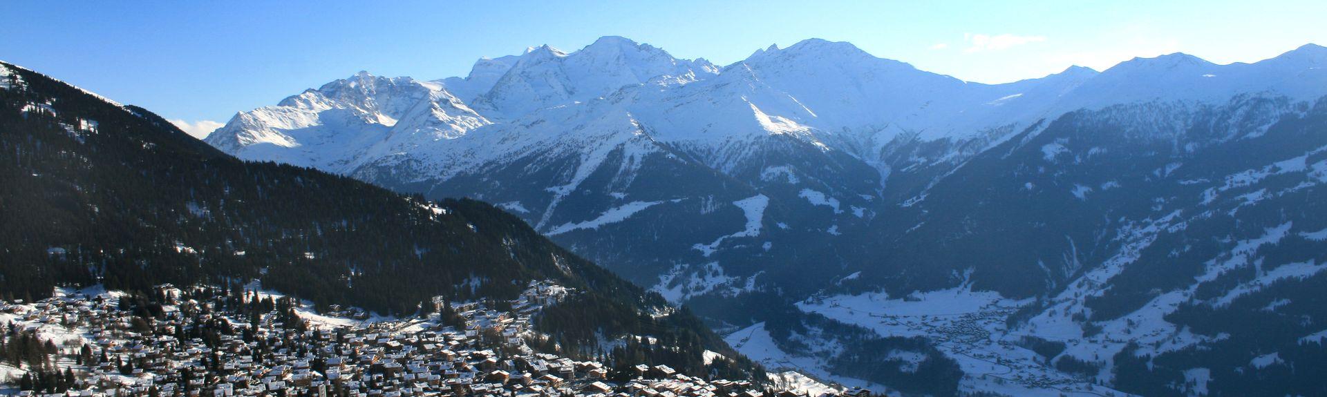Verbier, Bagnes, Wallis, Schweiz