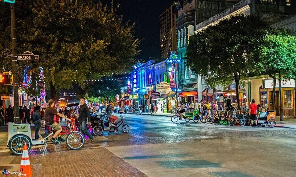 Sixth Street, Austin, TX, USA