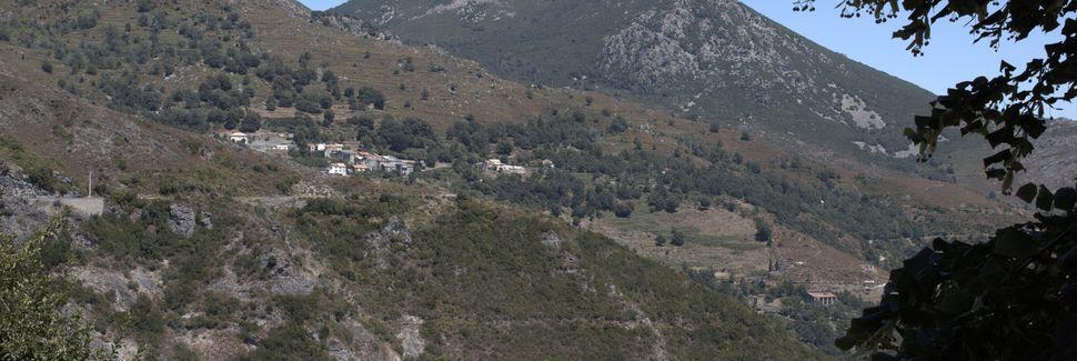 Bahnhof Belgodère, Occhiatana, Korsika, Frankreich