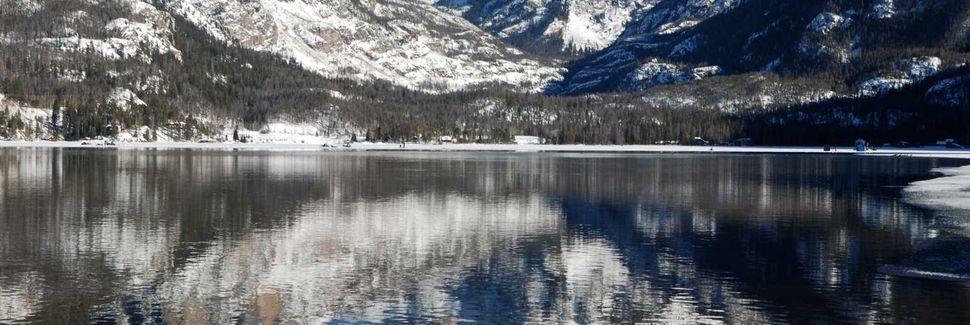 Lake Granby, Granby, Colorado, États-Unis d'Amérique