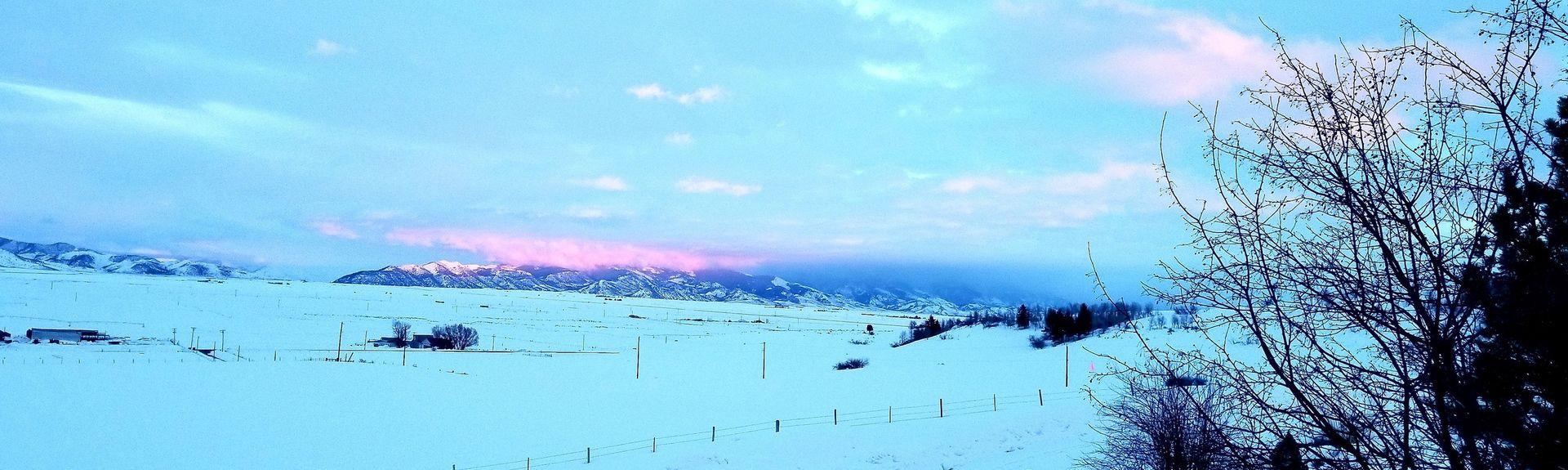 Pebble Creekin hiihtokeskus, Inkom, Idaho, Yhdysvallat