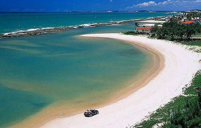 Praia de Pirangi, Parnamirim, Rio Grande do Norte, Brasil