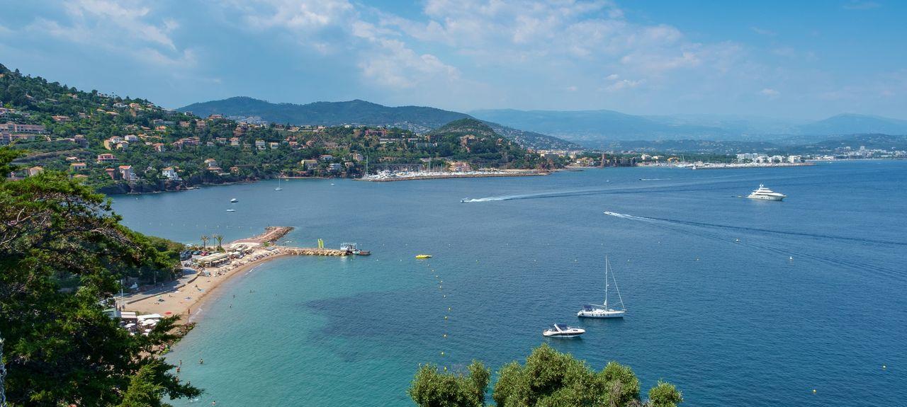 Théoule-sur-Mer, Provence-Alpes-Côte d'Azur, Frankreich