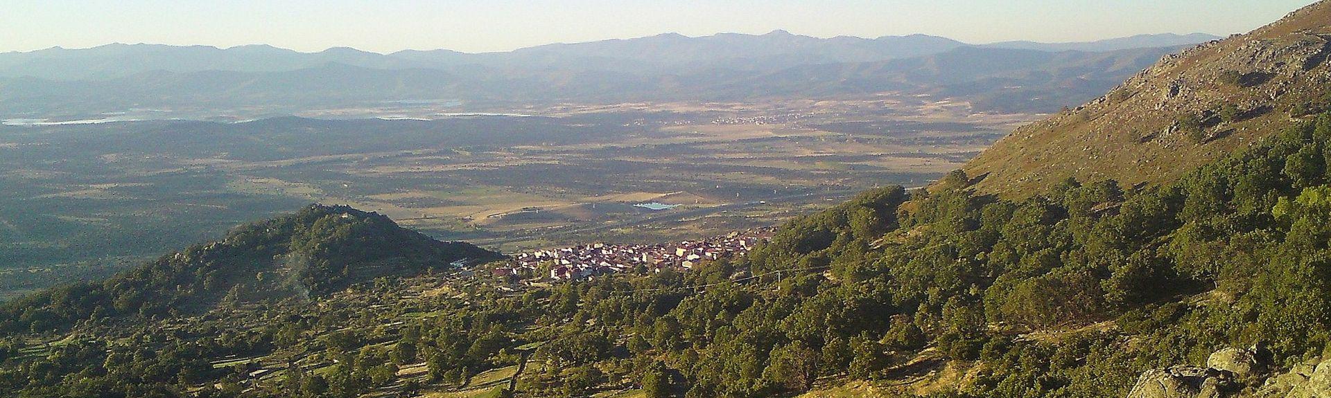 Casas del Castañar, Extremadura, Spanien
