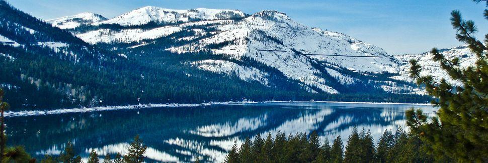 Donner Lake Woods, Truckee, Californien, USA