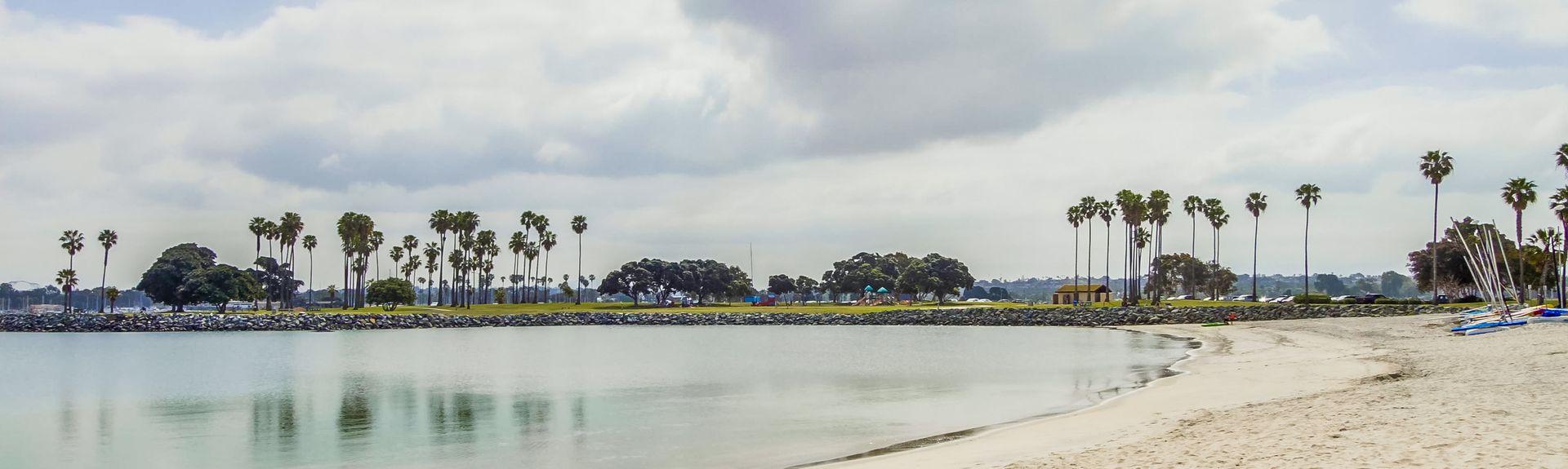 South Mission Beach, San Diego, Califórnia, Estados Unidos