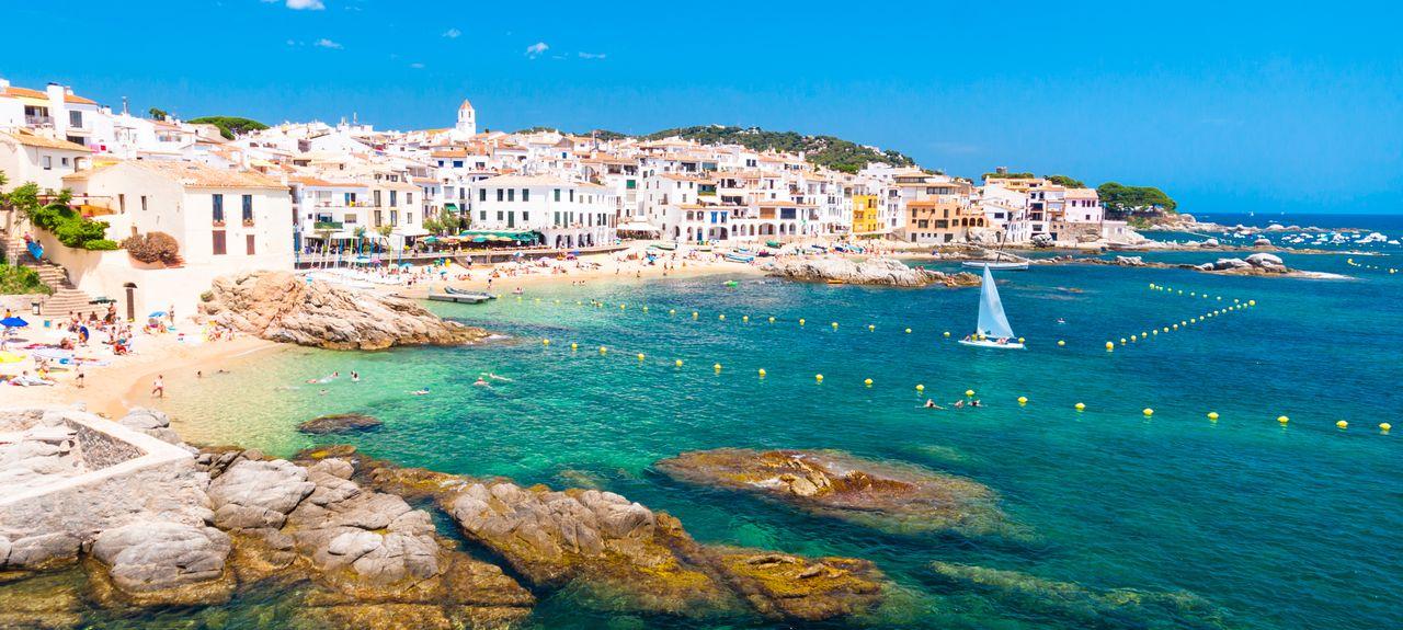 Calella, Catalonien, Spanien
